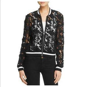 Lucy Paris Womens Grace Black Lace Outerwear